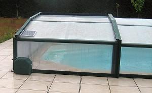 Motorisation pour abris de piscine